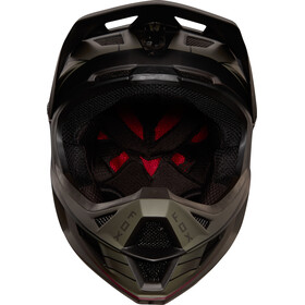 Fox Rampage Pro Carbon Kustom Miehet Pyöräilykypärä , musta/oliivi